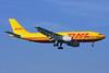 DHL-European Air Transport (Belgium) Airbus A300B4-103 (F) OO-DIJ (msn 189) LHR (Keith Burton). Image: 901456.
