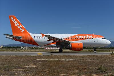 easyJet (UK) Airbus A319-111 G-EZDU (msn 3735) PMI (Ton Jochems). Image: 933882.