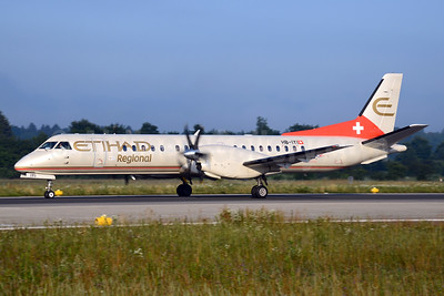 Etihad Regional-Darwin Airline SAAB 2000 HB-IYI (msn 016) ZRH (Rolf Wallner). Image: 933790.