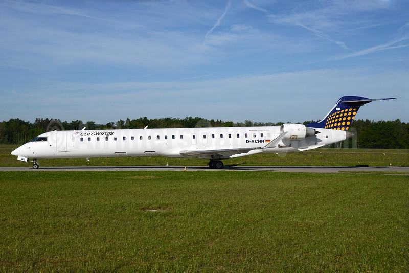 Eurowings (Lufthansa Regional) Bombardier CRJ900 (CL-600-2D14) D-ACNN (msn 15254) ZRH (Rolf Wallner). Image: 933076.
