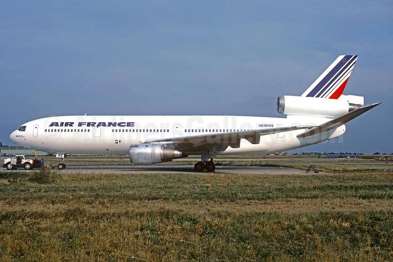 Air France McDonnell Douglas DC-10-30 N54649 (msn 46845) ORY (Christian Volpati). Image: 933486.