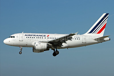 Air France Airbus A318-111 F-GUGN (msn 2918) ZRH (Andi Hiltl). Image: 933586.