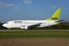 airBaltic (airBaltic.com) Boeing 737-522 YL-BBQ (msn 26691) ZRH (Rolf Wallner). Image: 929654.