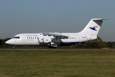 Atlantic Airways-Faroe Islands BAe 146-200 OY-RCA (msn E2045) STN (Pedro Pics). Image: 901364.
