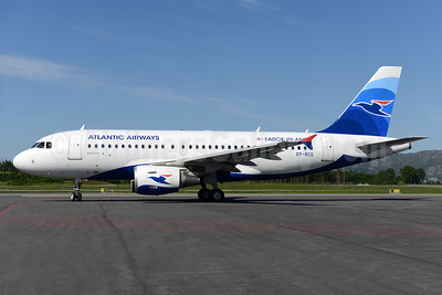 Atlantic Airways-Faroe Islands Airbus A319-115 OY-RCG (msn 5079) BGO (Ton Jochems). Image: 933246.