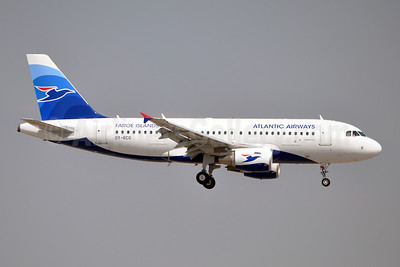 Atlantic Airways-Faroe Islands Airbus A319-115 OY-RCG (msn 5079) BCN (Karl Cornil). Image: 909462.