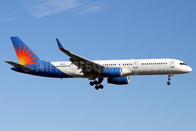 Air Finland Boeing 757-204 WL OH-AFL (msn 26963) (Allegiant Air colors) PMI (Javier Rodriguez). Image: 906514.