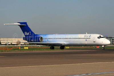 Blue1 Boeing 717-23S OH-BLJ (msn 55065) LHR (SPA). Image: 937405.
