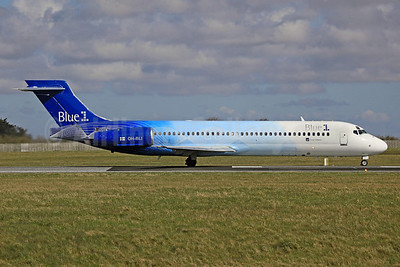Blue1 Boeing 717-2CM OH-BLI (msn 55061) DUB (SM Fitzwilliams Collection). Image: 920223.