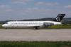Blue1 Boeing 717-2K9 OH-BLN (msn 55053) (Star Alliance) ZRH (Andi Hiltl). Image: 906670.