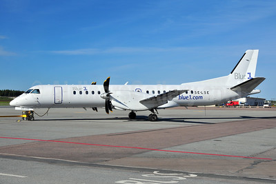 Blue1 (Skyway Express) SAAB 2000 SE-LSE (msn 046) ARN (Ton Jochems). Image: 906671.