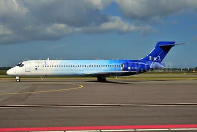 Blue1 Boeing 717-2CM OH-BLI (msn 55061) AMS (Ton Jochems). Image: 953329.