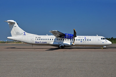 Blue1 (Golden Air) ATR 72-212A (ATR 72-500) SE-MDI (msn 930) HEL (Ton Jochems). Image: 906642.