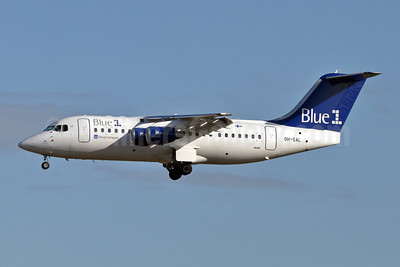 Blue1 BAe RJ85 OH-SAL (msn E2392) BRU (Karl Cornil). Image: 906668.