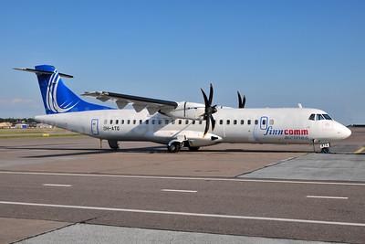 FinnComm Airlines (Finnish Commuter Airlines) ATR 72-212A (ATR 72-500) OH-ATG (msn 757) HEL (Ton Jochems). Image: 953942.