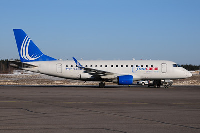 FinnComm Airlines (Finnish Commuter Airlines) Embraer ERJ 170-100 OH-LEK (msn 17000127) HEL (Ton Jochems). Image: 953945.