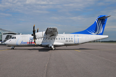 FinnComm Airlines (Finnish Commuter Airlines) ATR 42-500 OH-ATA (msn 641) HEL (Ton Jochems). Image: 953946.