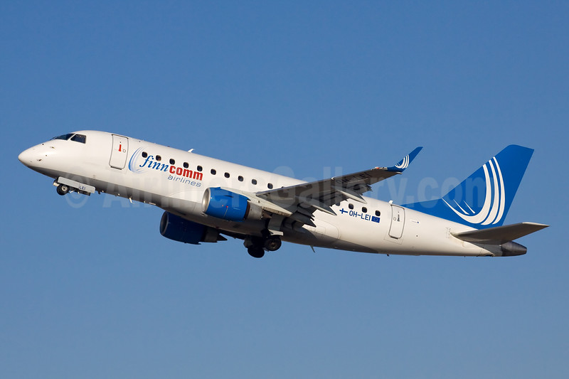 FinnComm Airlines (Finnish Commuter Airlines) Embraer ERJ 170-100 OH-LEI (msn 17000120) STR (Ole Simon). Image: 920401.