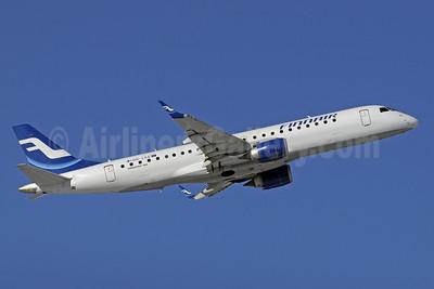 Finnair (Nordic Regional Airlines-Norra)  Embraer ERJ 190-100LR OH-LKE (msn 19000059) GVA (Paul Denton). Image: 905901.