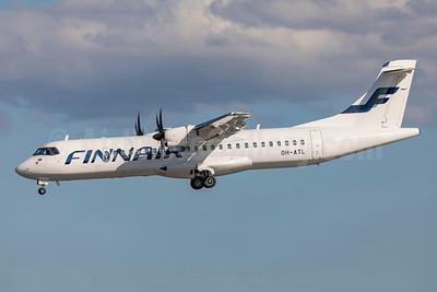 Finnair (Norra-Nordic Regional Airlines) ATR 72-212A (ATR 72-500) OH-ATL (msn 851) ARN (Stefan Sjogren). Image: 950980.