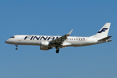 Finnair (Nordic Regional Airlines-Norra) Embraer ERJ 190-100LR OH-LKM (msn 19000160) FRA (Paul Bannwarth). Image: 923850.