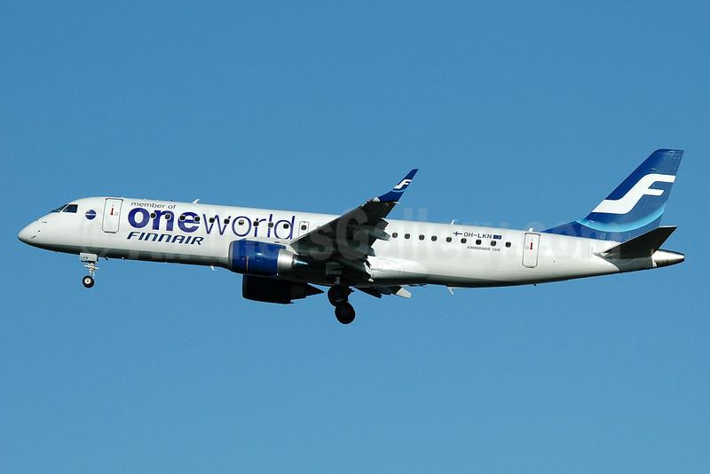Finnair (Nordic Regional Airlines-Norra) Embraer ERJ 190-100LR OH-LKN (msn 19000252) (Oneworld) MAN (Nik French). Image: 902458.