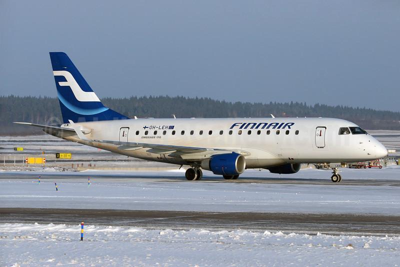 Finnair (Nordic Regional Airlines-Norra)  Embraer ERJ 170-100ST OH-LEH (msn 17000112) ARN (Stefan Sjogren). Image: 930855.