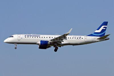 Finnair (Nordic Regional Airlines-Norra) Embraer ERJ 190-100LR OH-LKE (msn 19000059) ZRH (Eurospot). Image: 903287.