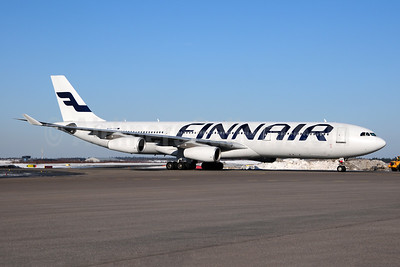 Finnair Airbus A340-311 OH-LQA (msn 058) HEL (Ton Jochems). Image: 955197.