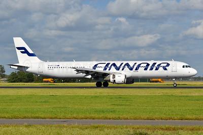 Finnair Airbus A321-211 OH-LZE (msn 1978) AMS (Tony Storck). Image: 936230.