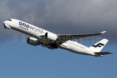 Finnair Airbus A350-941 OH-LWB (msn 019) (Oneworld) LHR (SPA). Image: 937234.