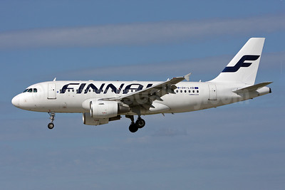 Finnair Airbus A319-112 OH-LVB (msn 1107) ZRH (Andi Hiltl). Image: 908851.