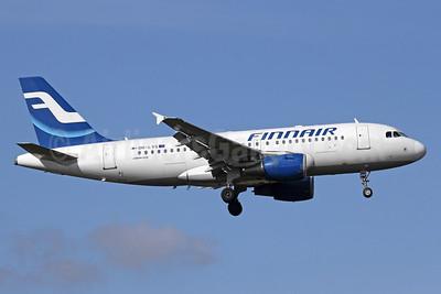 Finnair Airbus A319-112 OH-LVG (msn 1916) LHR (Michael B. Ing). Image: 910146.
