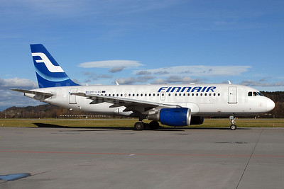 Finnair Airbus A319-112 OH-LVC (msn 1309) ZRH (Rolf Wallner). Image: 905836.