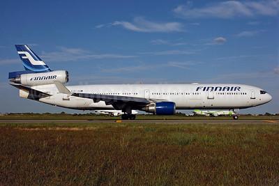 Finnair McDonnell Douglas MD-11 OH-LGG (msn 48753) JFK (Ken Petersen). Image: 48753.