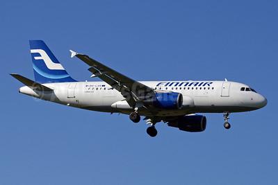Finnair Airbus A319-112 OH-LVK (msn 2124) ZRH (Paul Denton). Image: 910147.