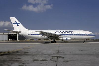 Finnair Airbus A300B4-203 OH-LAB (msn 302) FRA (Bernhard Ross). Image: 948138.