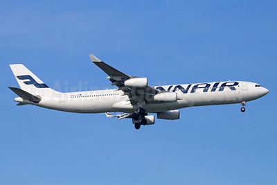 Finnair Airbus A340-313 OH-LQC (msn 844) BKK (Michael B. Ing). Image: