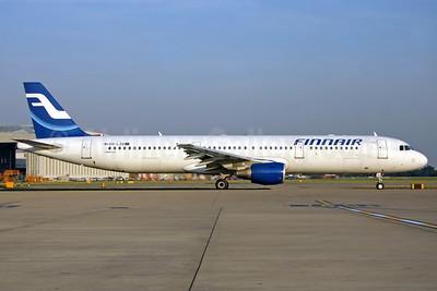 Finnair Airbus A321-211 OH-LZD (msn 1241) LHR (SPA). Image: 940770.