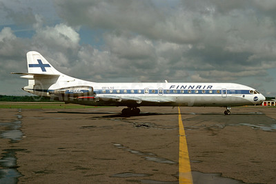 Finnair Sud Aviation SE.210 Caravelle 10B3 OH-LSG (msn 169) ARN (Anders Holmstrom - Bruce Drum Collection). Image: 923849.