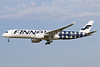 "First flight of Finnair's 2017 ""Marinekko Kivet"" special livery"