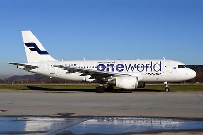 Finnair Airbus A319-112 OH-LVD (msn 1352) (Oneworld) ZRH (Rolf Wallner). Image: 921353.
