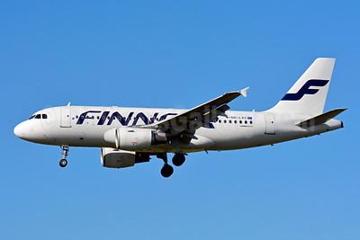 Finnair Airbus A319-112 OH-LVC (msn 1309) ZRH (Paul Bannwarth). Image: 929408.