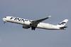 Finnair's first A350 visits London Heathrow