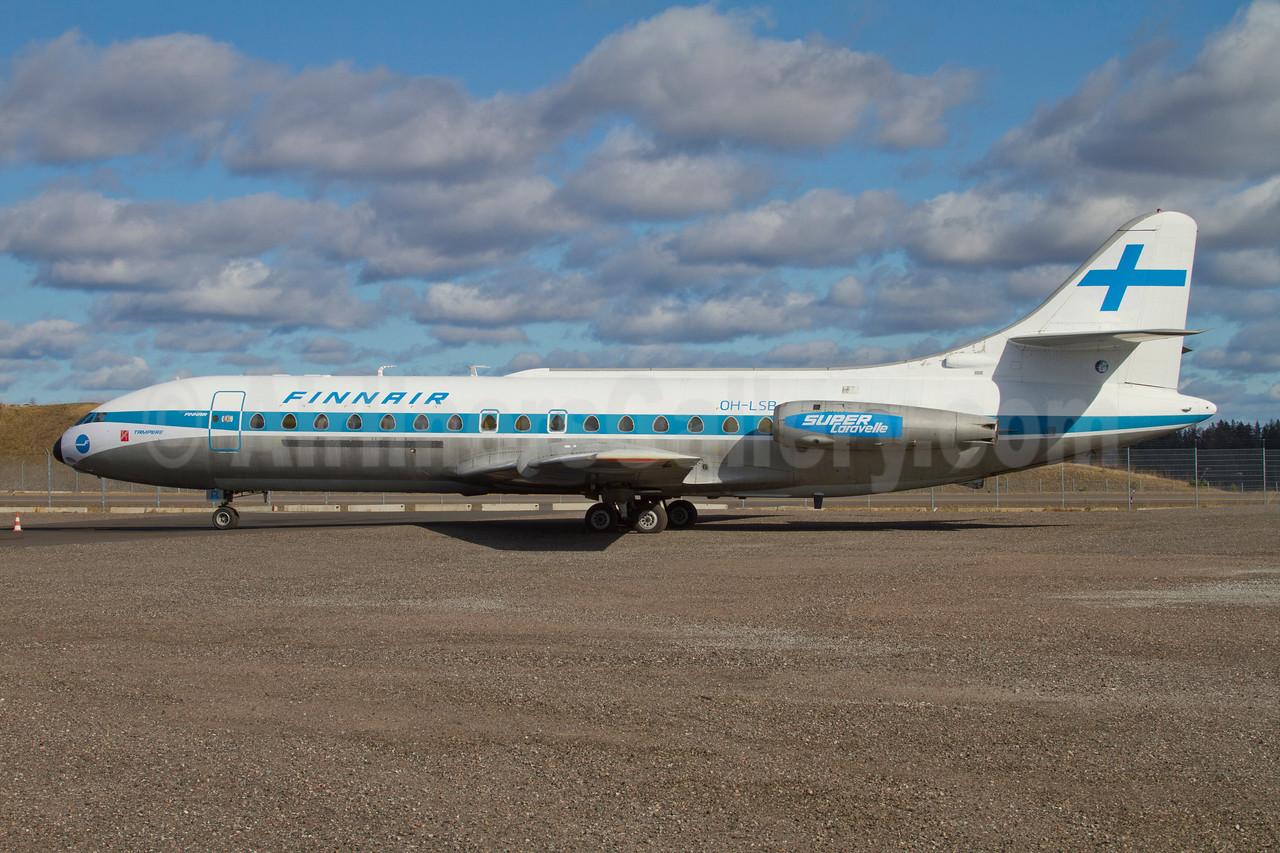 "Finnair (Le Caravelle Club) Sud Aviation SE.210 Caravelle 3 ""Super Caravelle"" OH-LSB (SE-DAI) (msn 210) (painted for a movie) ARN (Stefan Sjogren). Image: 908106."