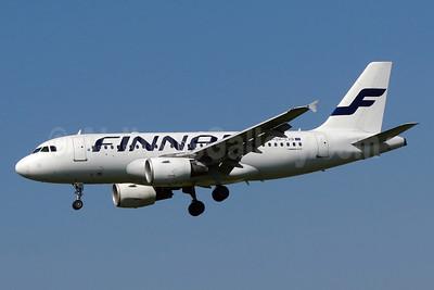 Finnair Airbus A319-112 OH-LVB (msn 1107) ZRH (Paul Bannwarth). Image: 924181.