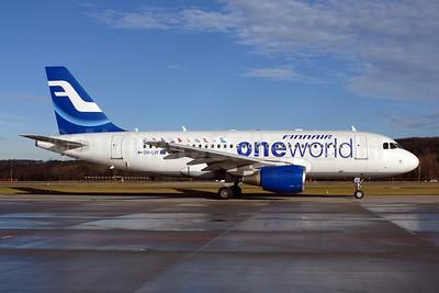 Finnair Airbus A319-112 OH-LVF (msn 1808) (Oneworld) ZRH (Rolf Wallner). Image: 907398.