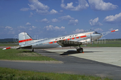Kar-Air Finland Douglas DC-3-214 OH-VKB (msn 1975) (Christian Volpati Collection). Image: 937421.