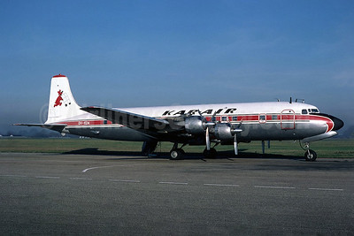 Kar-Air Douglas DC-6B Swingtail OH-KDA (msn 45202) SEN (Richard Vandervord). Image: 937423.