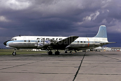 Kar-Air Douglas DC-6B Swingtail OH-KDA (msn 45202) (United Nations colors) LBG (Christian Volpati). Image: 900856.